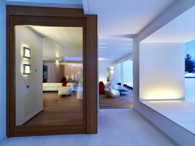 Horizontal Space House Damilano Studio Architects Archdaily - Horizontal-space-by-duilio-damilano
