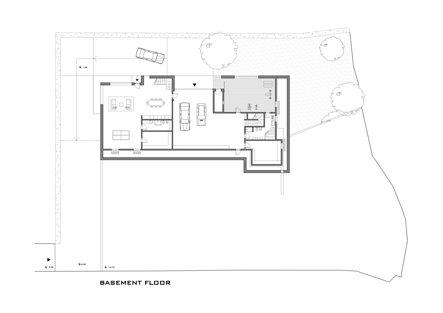 Gallery Of Horizontal Space House Damilano Studio Architects 11 - Horizontal-space-by-duilio-damilano