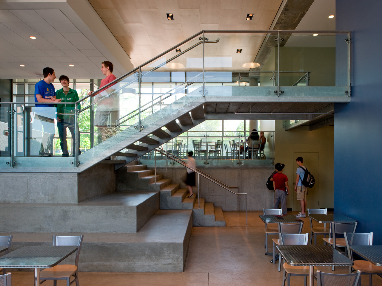Gallery of the wheeler school nulman lewis student center for The interior design school