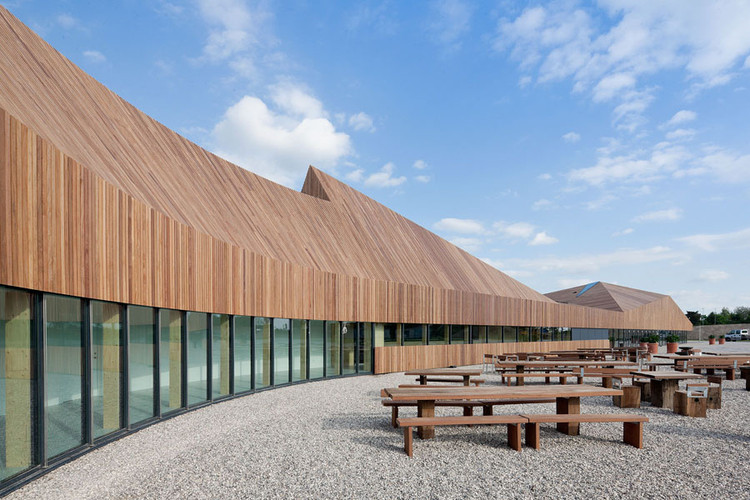 Favrholm Conference Center / SeARCH, © Iwan Baan
