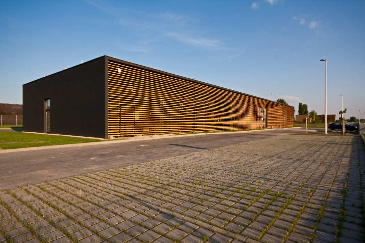 FIS-SST Office Building / Zalewski Architecture Group, Courtesy of  zalewski architecture group