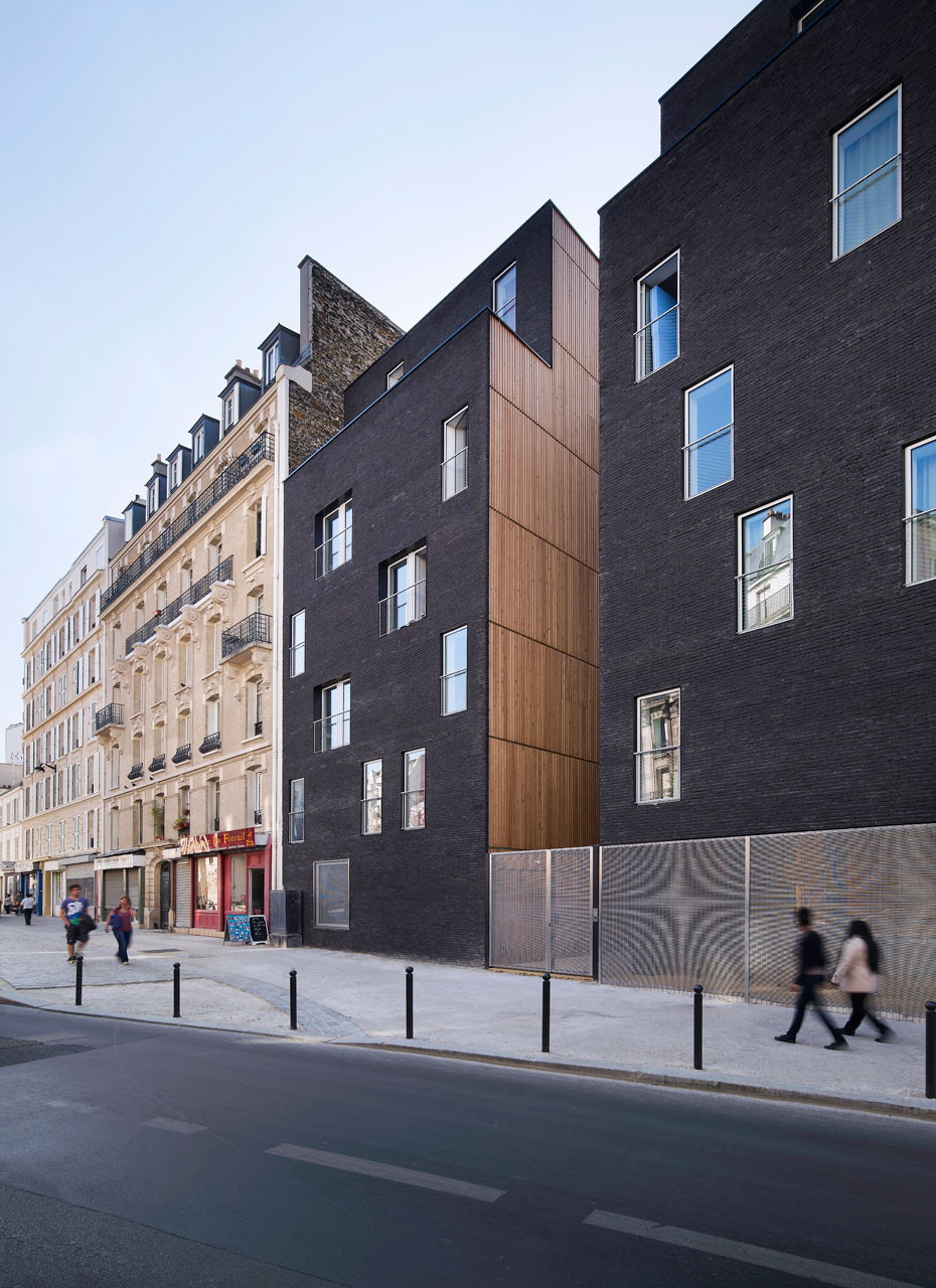 Gallery of student residence in paris lan architecture 2 for Architecture a paris