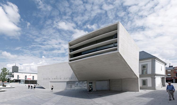 New Cultural Centre / FÜNDC, © César Gª Guerra