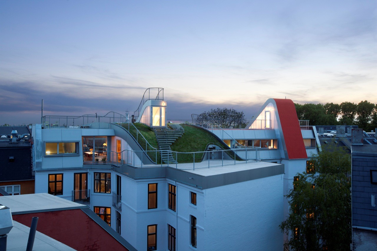 Penthouses and Rooftop Terrace / JDS Architects, Courtesy of JDS Architects
