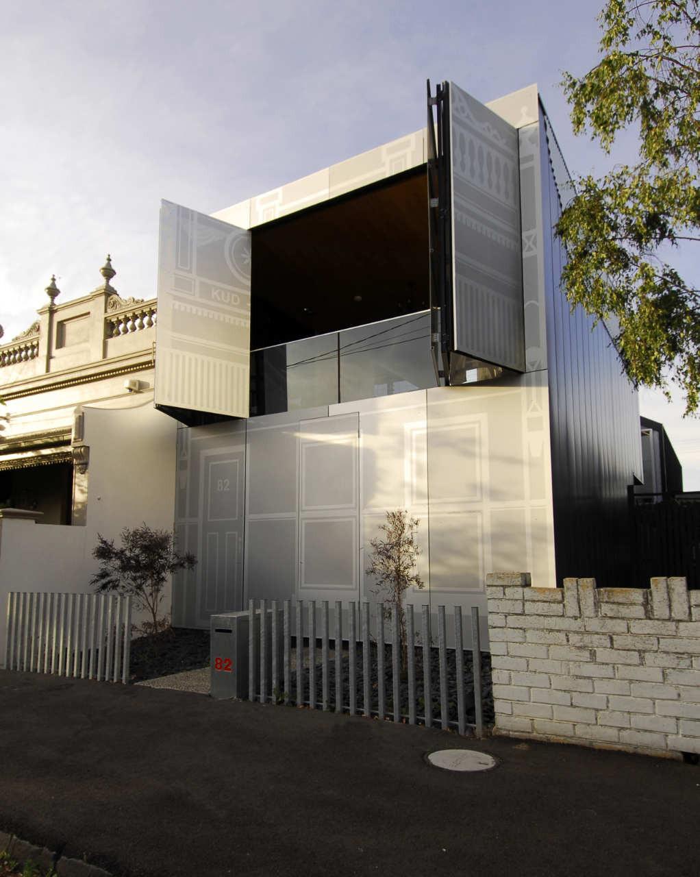 Gallery Of Perforated House Kavellaris Urban Design 4