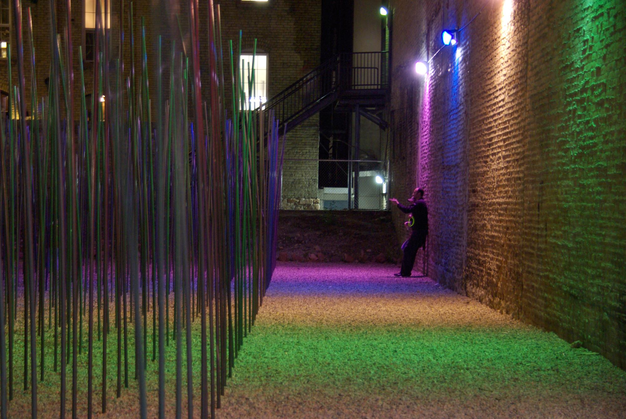 SWAYu0027D Interactive Public Art Installation / Daniel Lyman & Gallery of SWAYu0027D Interactive Public Art Installation / Daniel ... azcodes.com