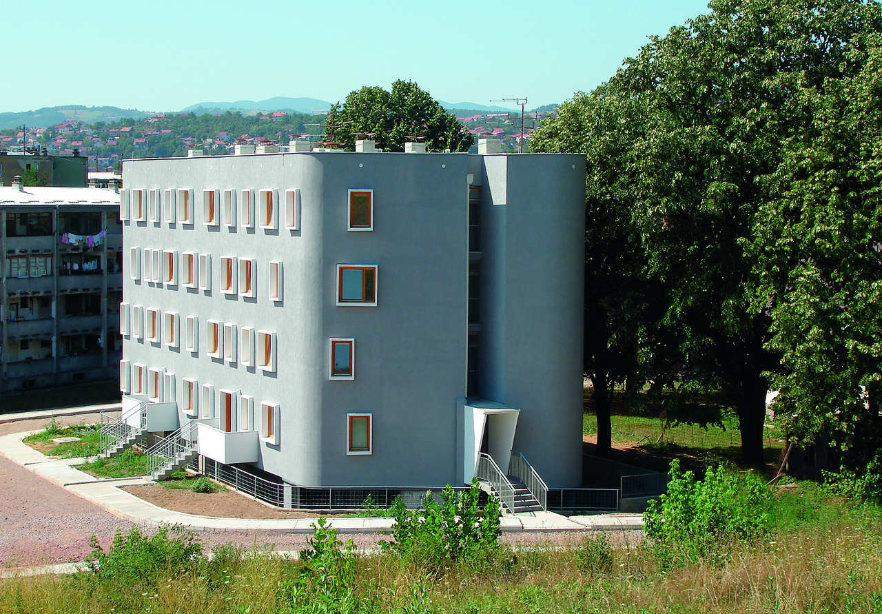 Social Housing Building in Valjevo / 1X2STUDIO, Courtesy of  1x2studio
