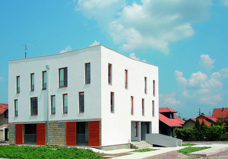 Second Social Housing In Valjevo / 1X2STUDIO, Courtesy of  1x2studio
