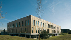Seine-Amont Site Management Offices / aasb_agence d'architecture suzelbrout