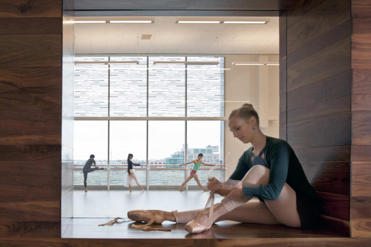 Houston Ballet Center For Dance Gensler