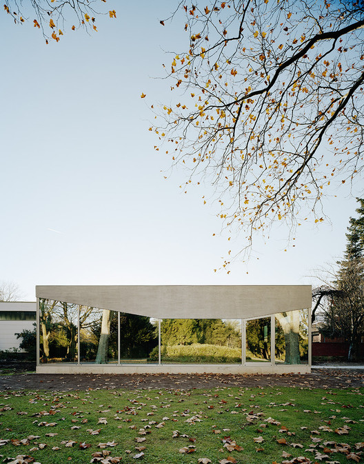 Cafe Pavilion / Martenson and Nagel Theissen Architecture, © Brigida González