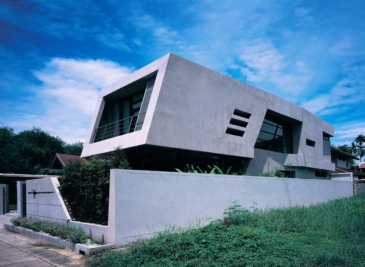 Equilibrium House Vaslab Architecture Archdaily