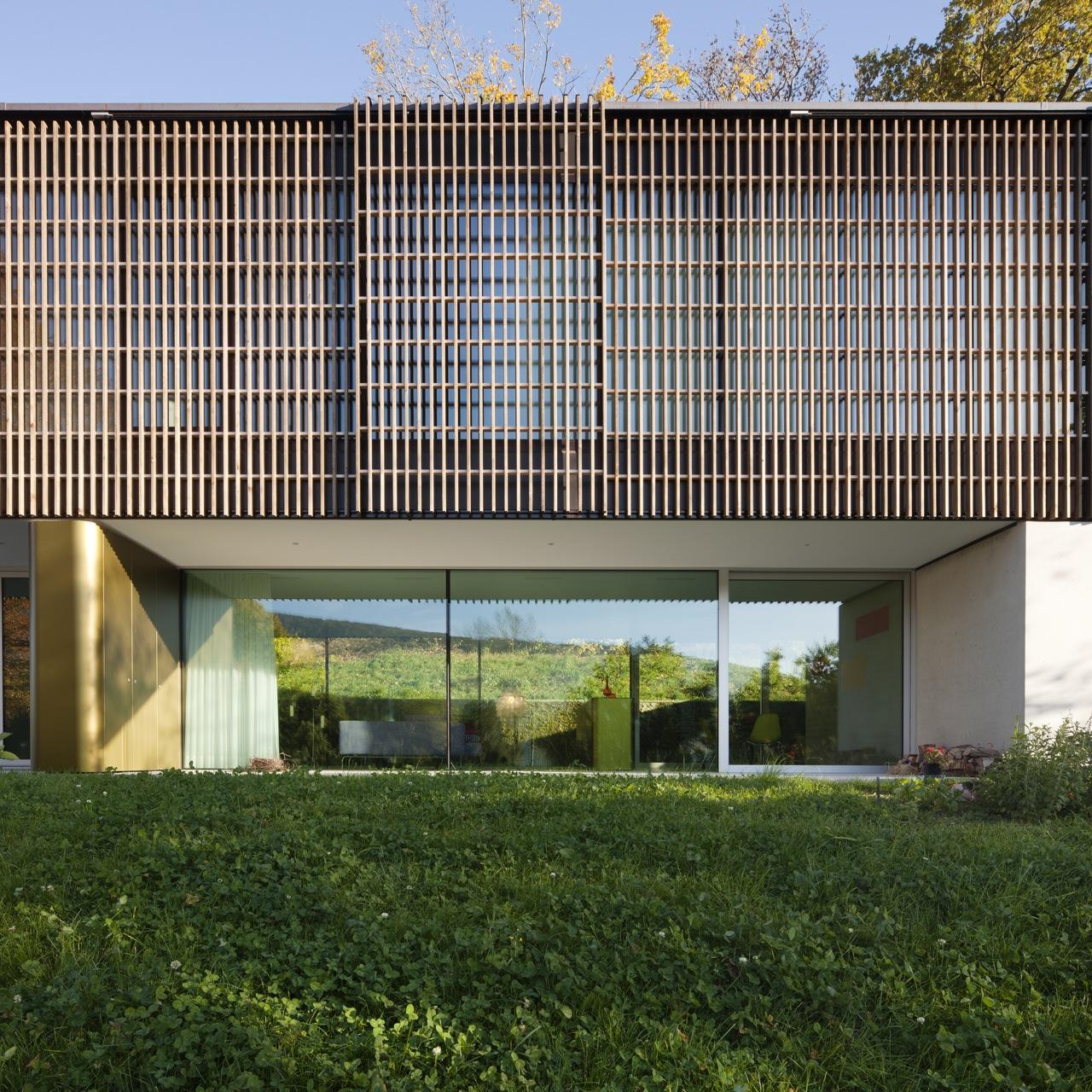 Single House Lake of Biel / bauzeit architekten, © Yves Andre