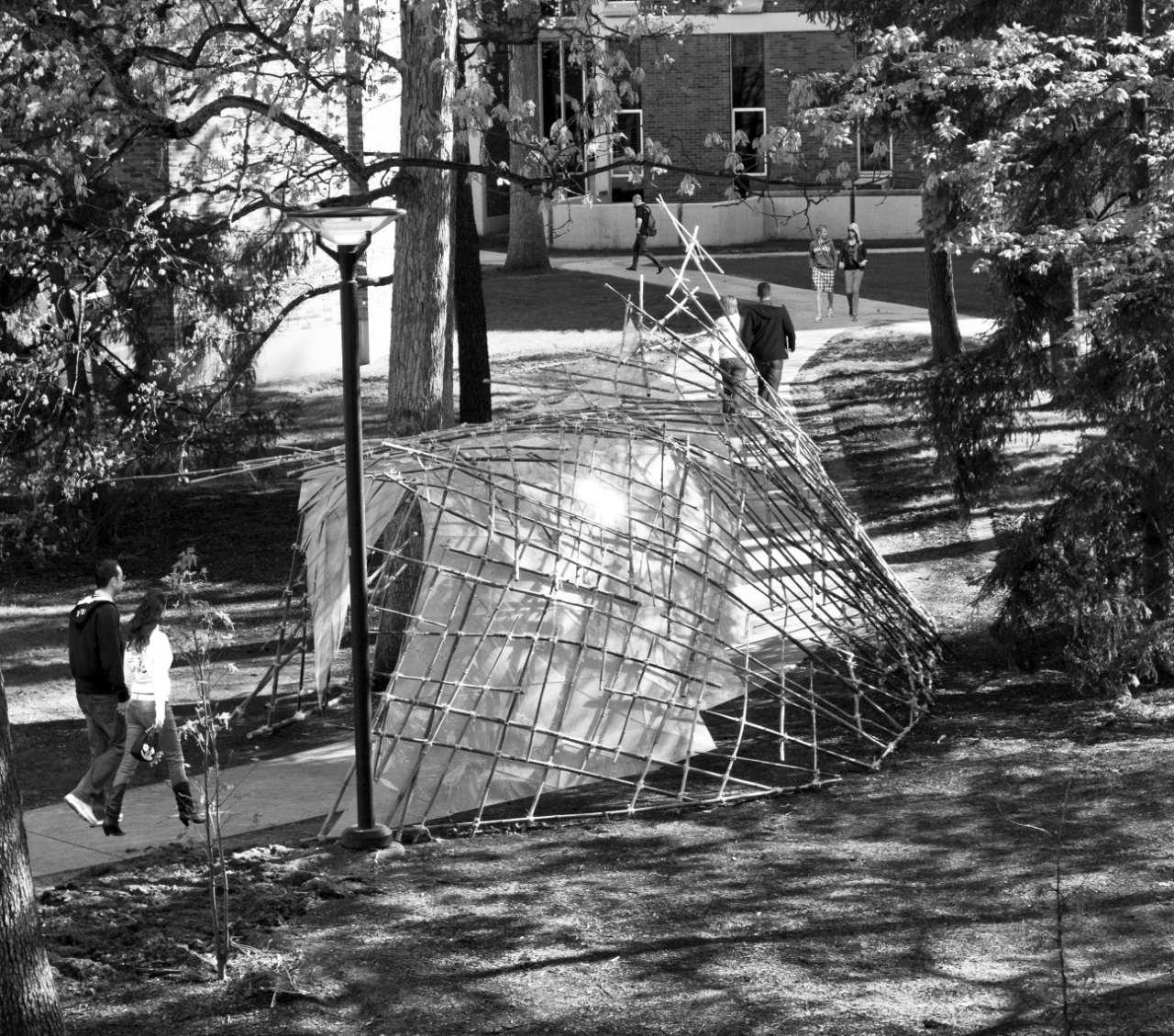 Slipstream Pavilion / David A. Palmieri & Kyle M. Schillaci, © David A. Palmieri
