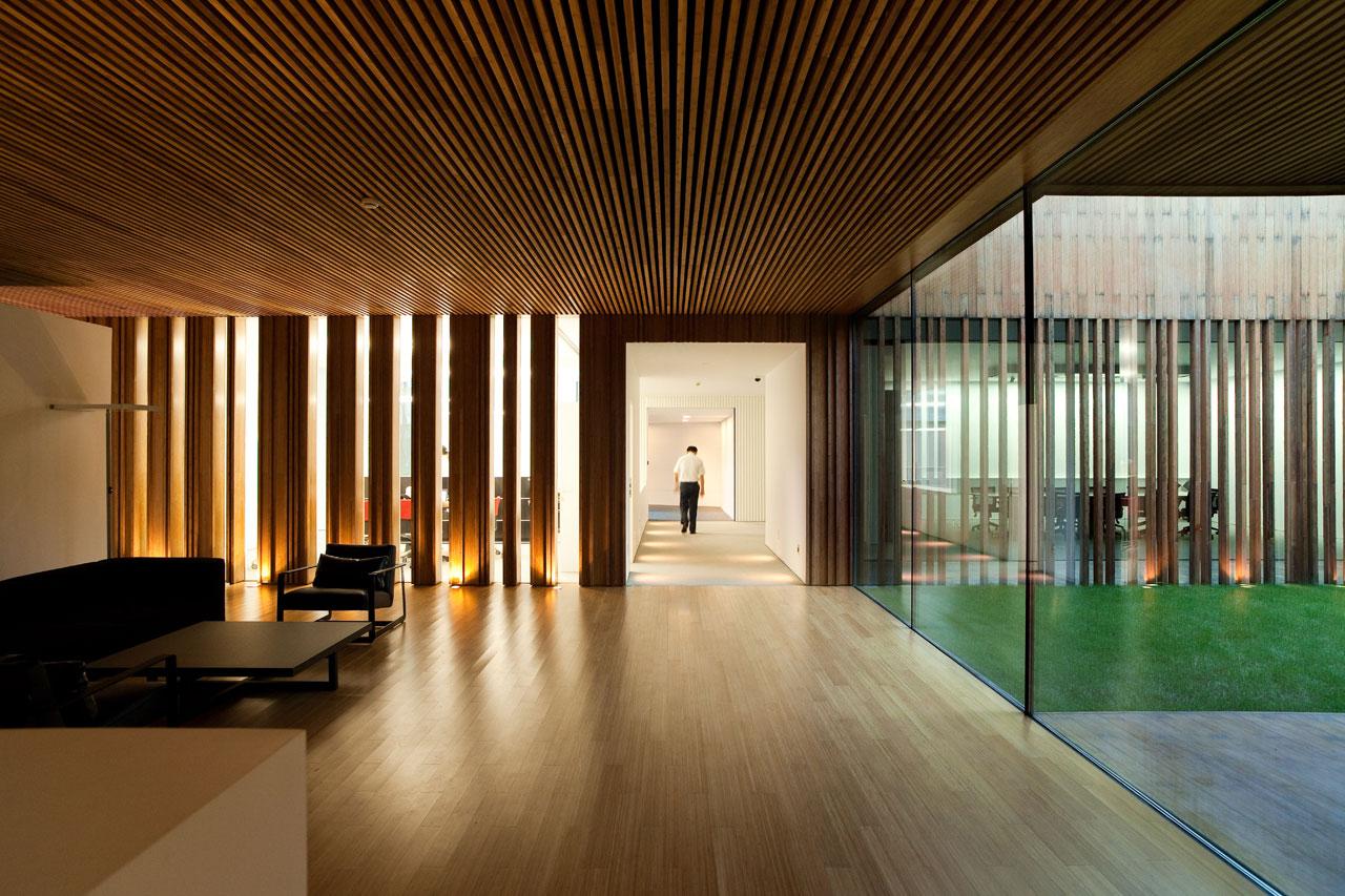 NJFS CEO Office / EXH Design, © Meng Studio