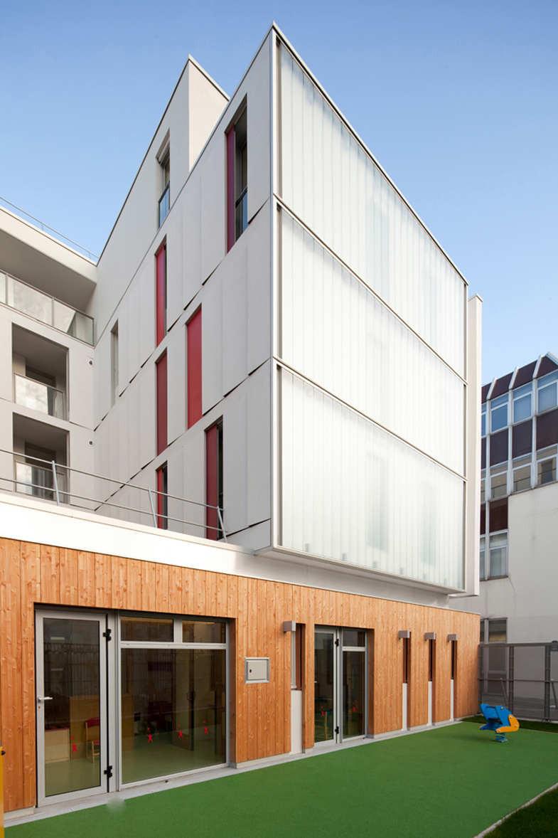 Allée Verte / Clermont Architectes, © Daniel Osso