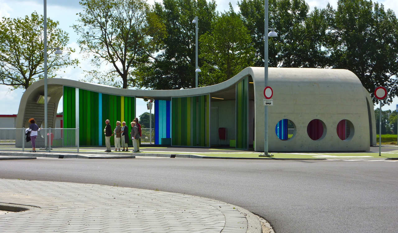 Busstop Park+Ride Citybus / LYVR, © Johan de Groot