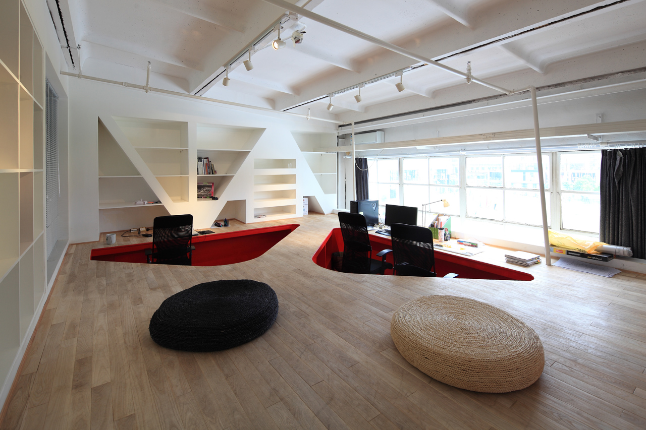 innovative ppb office design. Red Town Office / Taranta Creations Innovative Ppb Design
