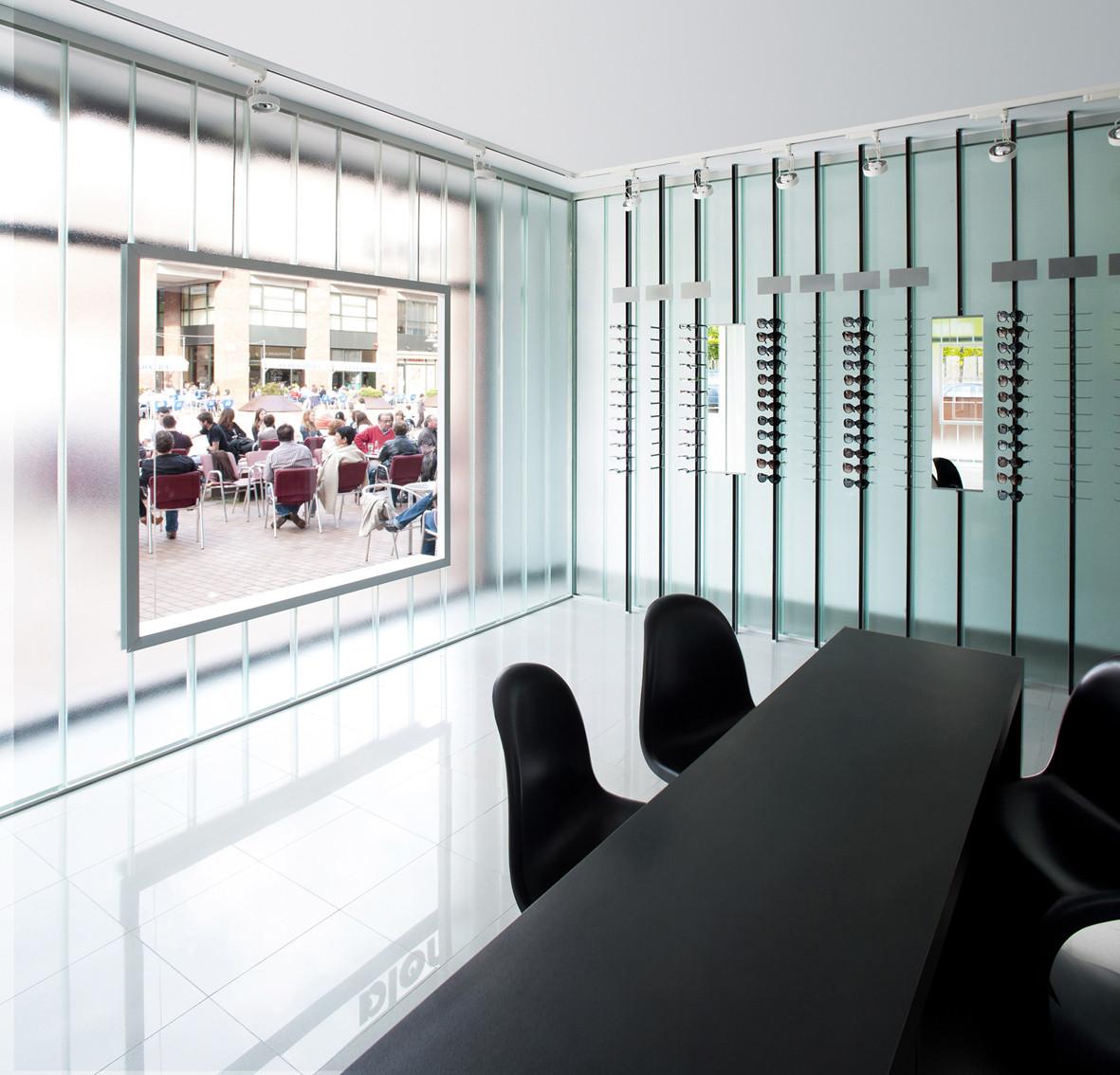 Optic Store in Olot / CUBUS Taller d'Arquitectura, © Ignasi Pujol /Ambar Fotografía