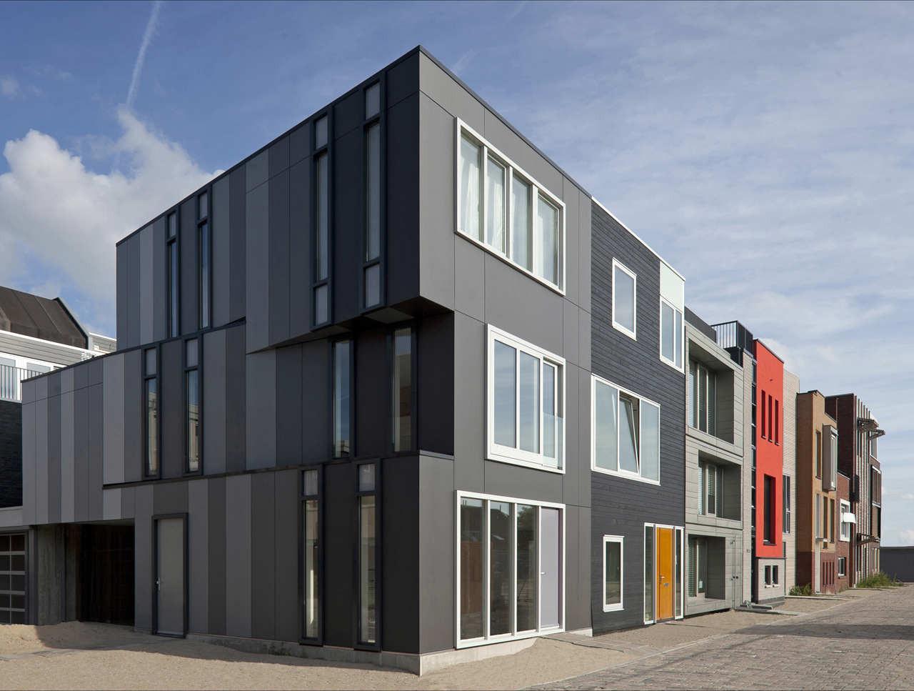 Corner House in Leiden / Marc Koehler Architects + Sophie ...