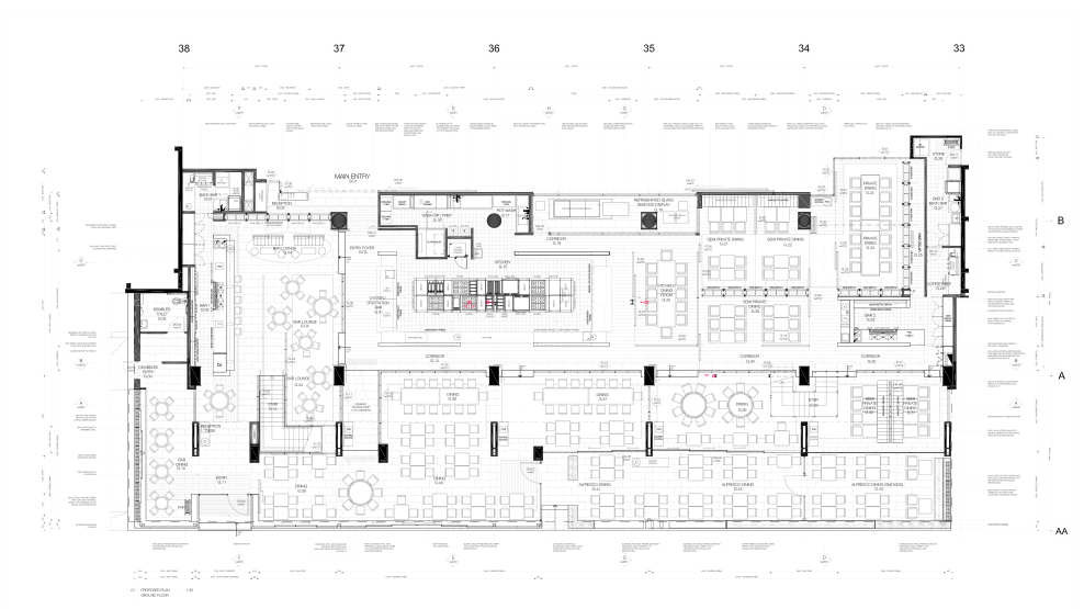 Gallery of The Atlantic Restaurant Blackmilk Interior Design 20