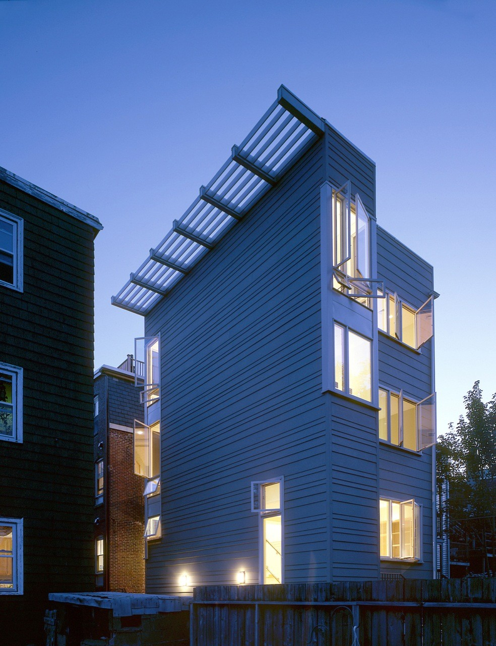 East 6th Street House / Touloukian Touloukian Inc., © Stephen Lee Photography