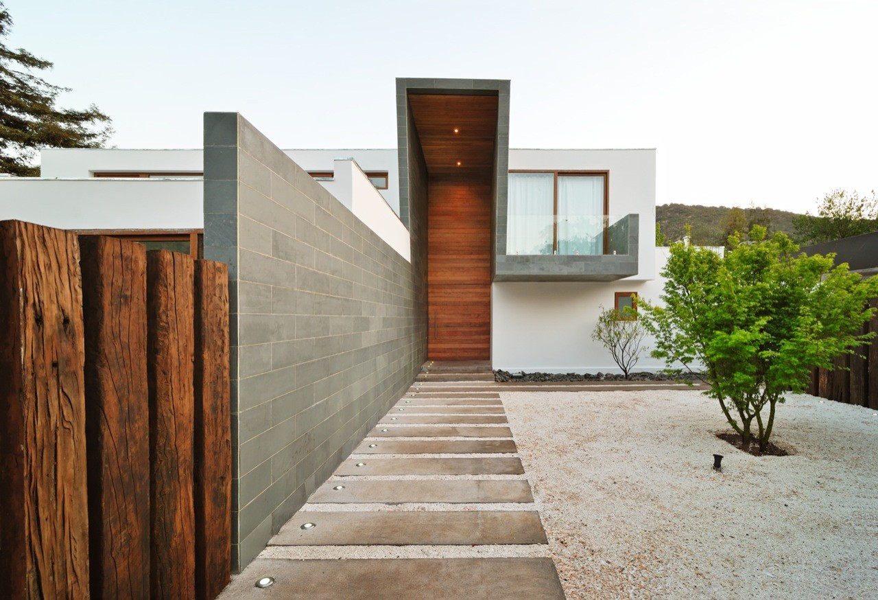 3 element house tom s swett archdaily for Accesos arquitectura
