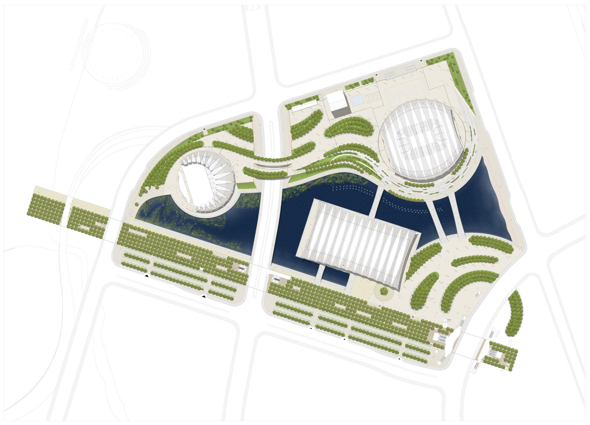 Gallery Of Shanghai Oriental Sports Center Gmp Architekten 11