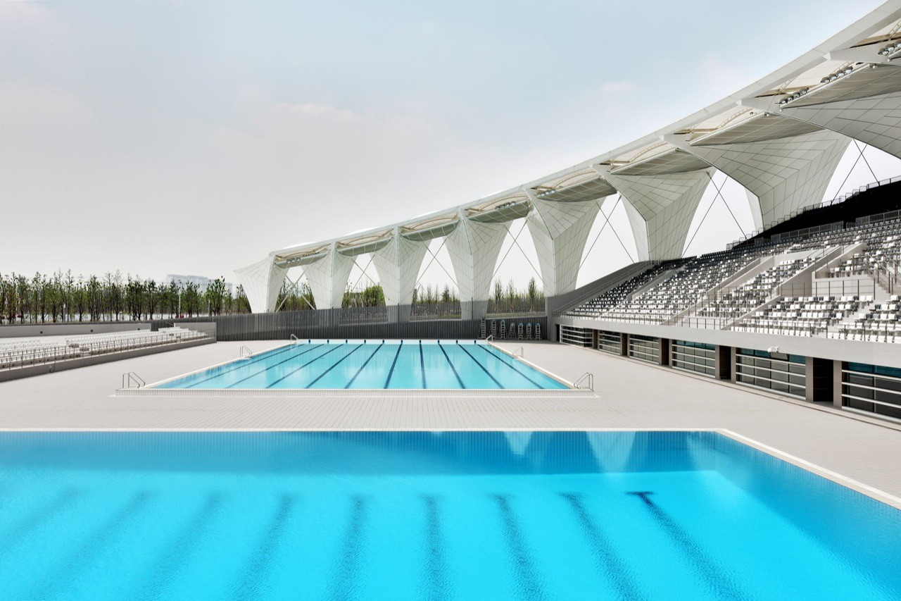 Gallery Of Shanghai Oriental Sports Center Gmp