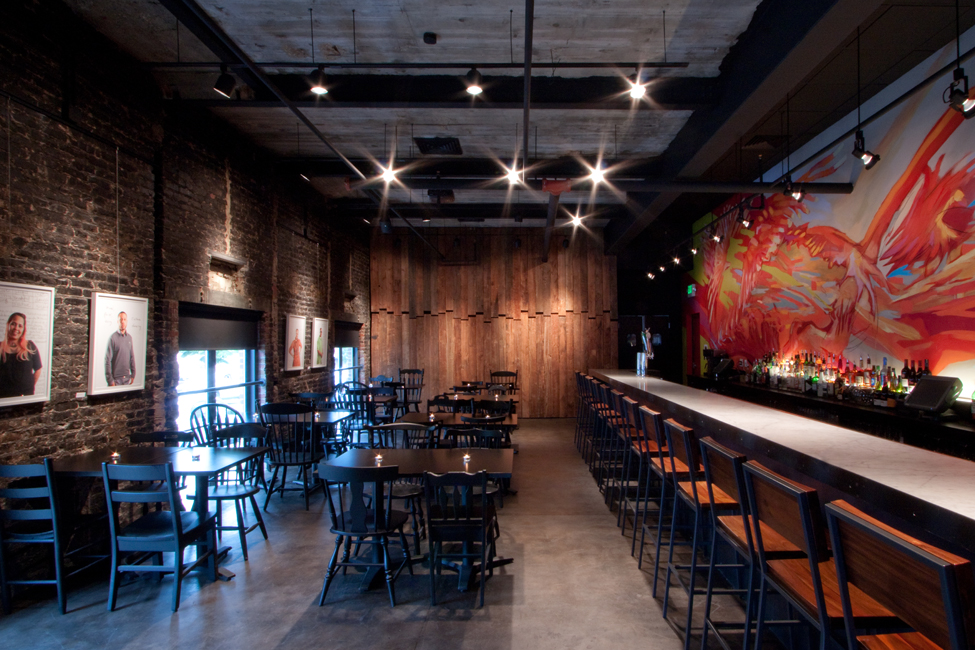 Creative Alliance Cafe / PI.KL Studio  + Kroiz Architecture, © Norscode
