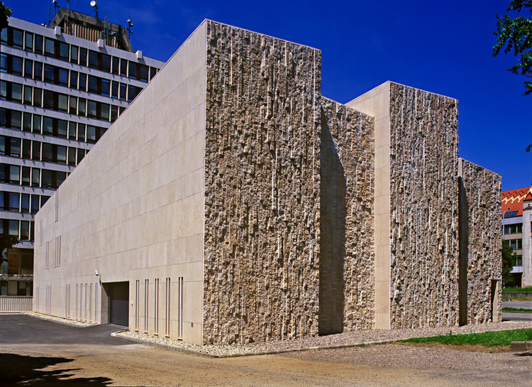 The High Court of Justice and the Law Courts / Koller Studio, © Andrea Häider