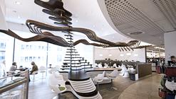 Green Bistro Interior Design / Siddik Erdogan  + Jörn Fröhlich