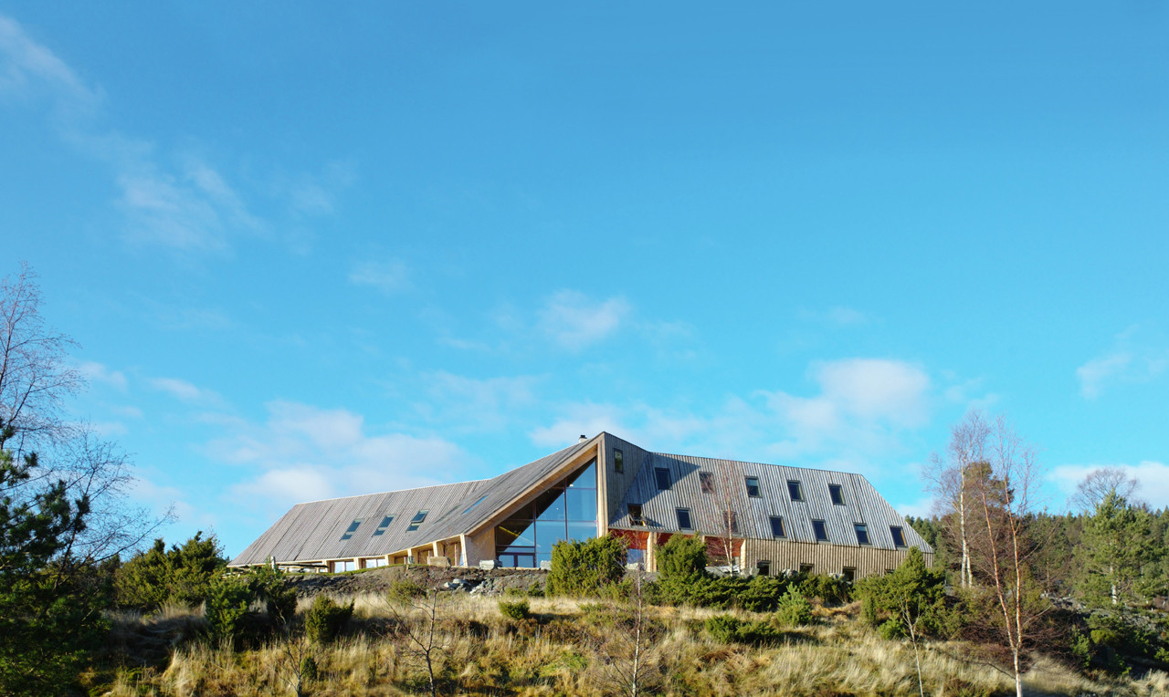 Pulpit Rock Mountain Lodge / Helen & Hard, Courtesy of  helen & hard