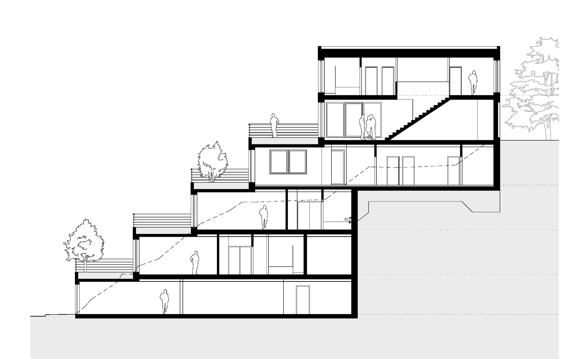 Gallery of terrace house pavel hnilicka architekti 19 for Terrace of house
