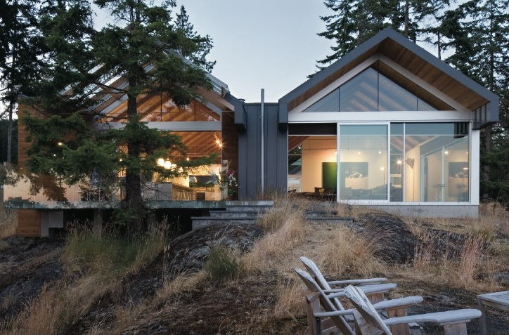 Bowen Island House Bai Architects Archdaily