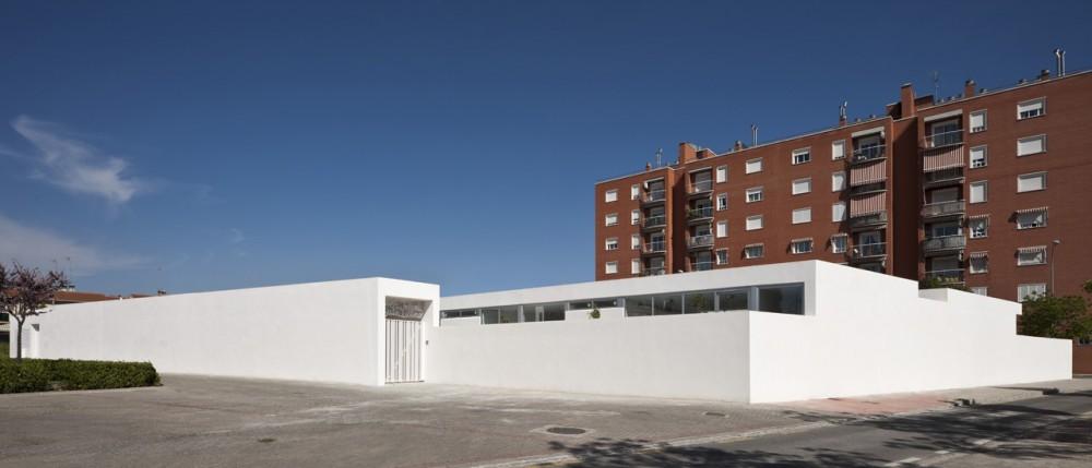 Kindergarten in Chana / Elisa Valero Arquitectura, © Fernando Alda