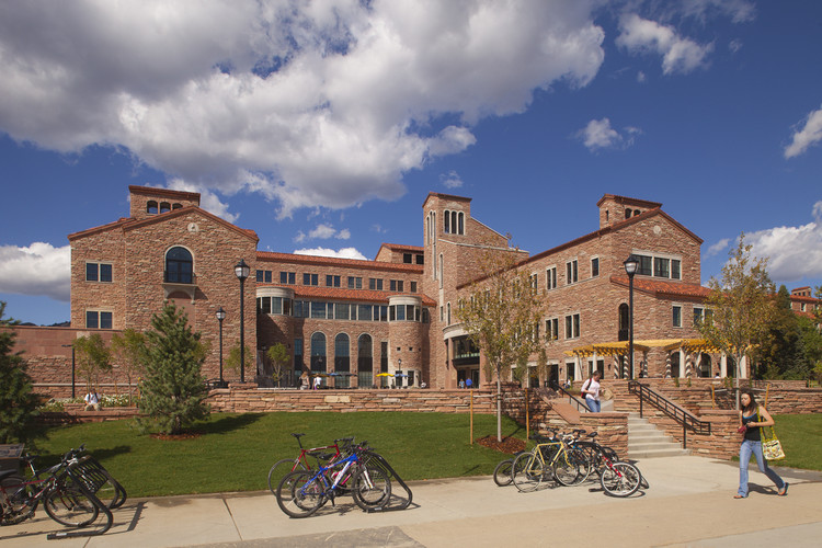 Center for Community at the University of Colorado at Boulder / Centerbrook Architects with Davis Partnership Architects, © Paul Brokering