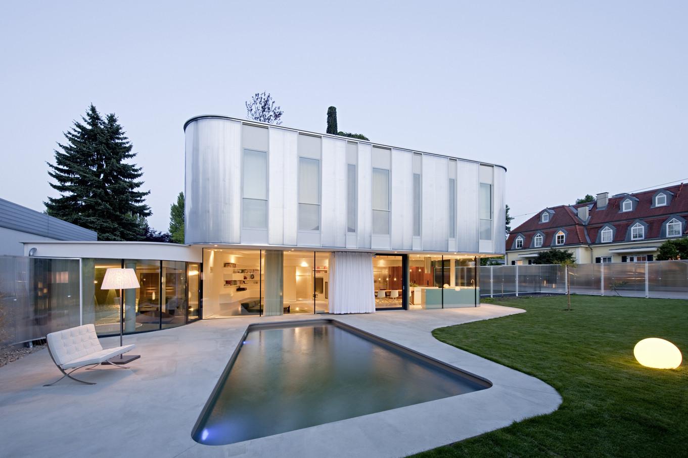 Wohnzimmer House / Caramel Architekten, © Hertha Hurnaus