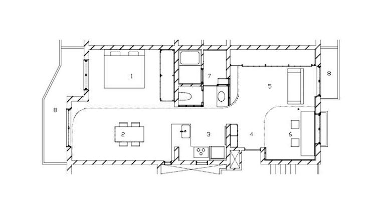 Nagi Apartment Uufie Archdaily