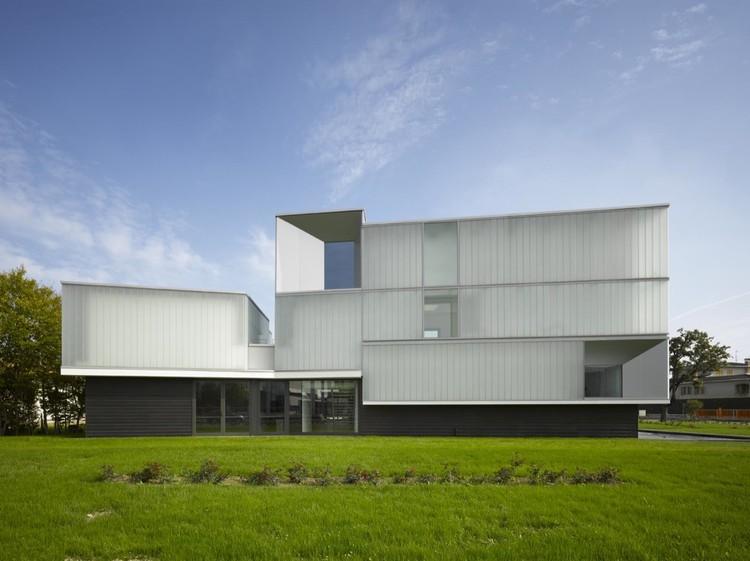Domus Technica: Immmergas Center for Advanced Training / Iotti + Pavarani Architetti, © Roland Halbe