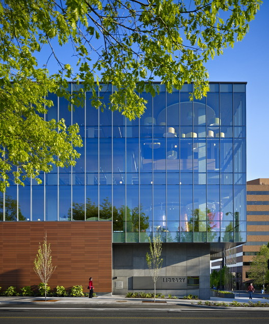 Vancouver Community Library / The Miller Hull Partnership, ©  Benjamin Benschneider