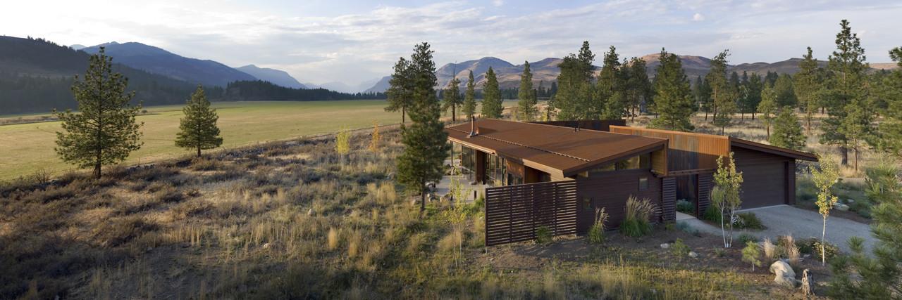Wolf Creek View Cabin / Balance Associates Architects, © Steve Keating Photography