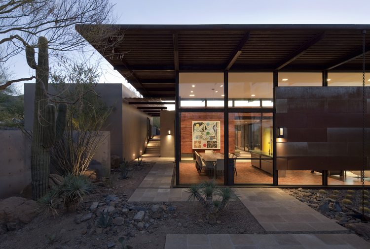The Brown Residence / Lake|Flato Architects, © Timmerman Photography