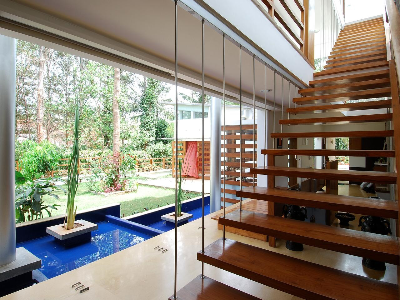 Gallery of house of pavilions architecture paradigm 10 for Aslam architects interior designs bangalore