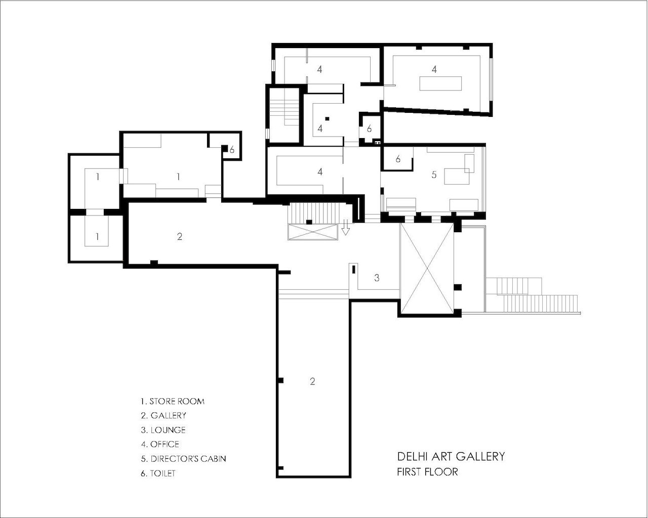 gallery architecture plan - photo #3