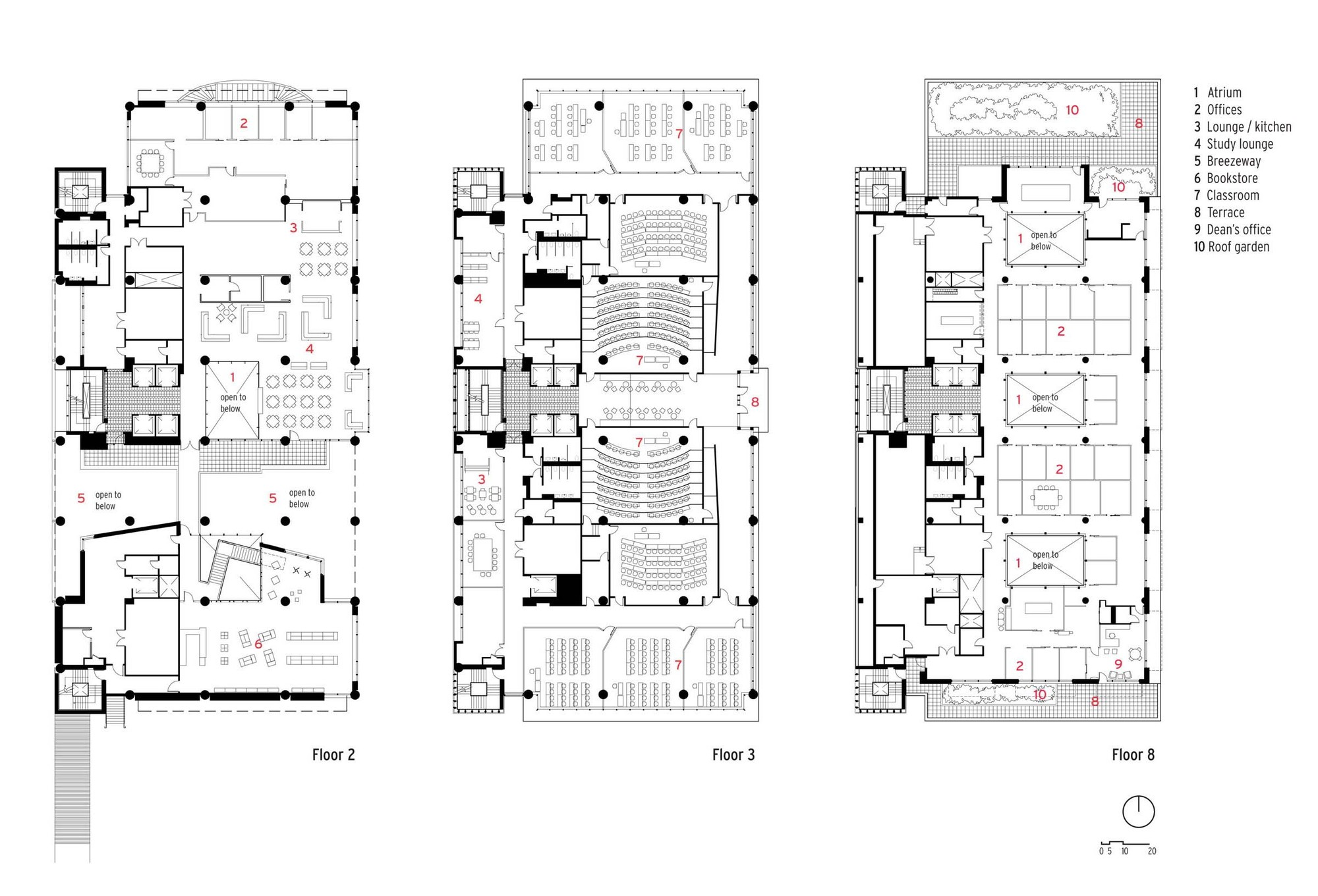 Daycare Center Floor Plan Gallery Of School Of Nursing And Student Community Center