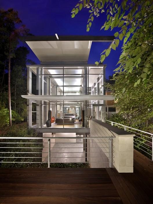 Paletz Moi Residence / Kenneth E. Hobgood Architects, © James West