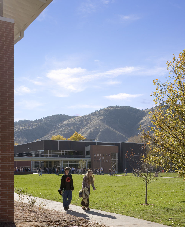 Golden High School / NAC Architecture, © Frank Ooms