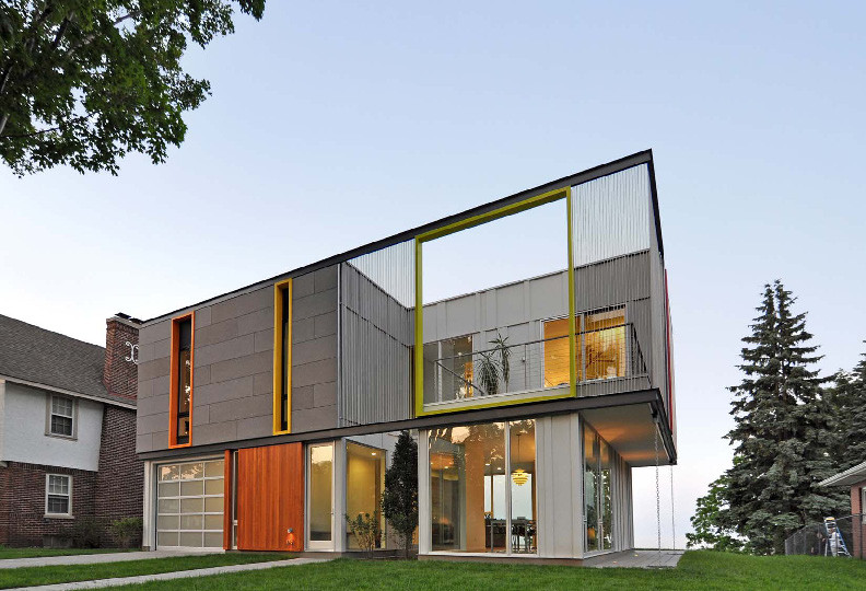 OS House / Johnsen Schmaling Architects, © Johnsen Schmaling Architects