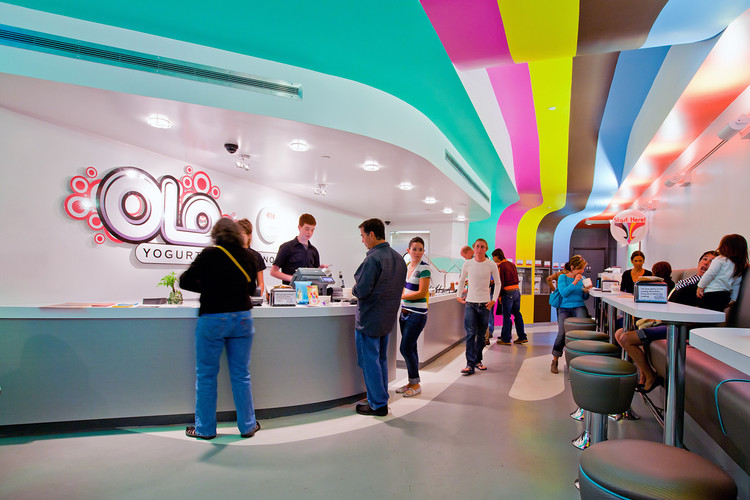 Olo Yogurt Studio / Baker Architecture + Design, © Richard Nunez